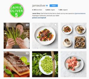 instagram pagina jamie oliver
