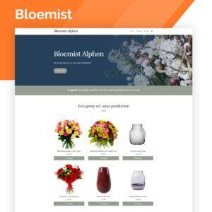 webshop voor een bloemenwinkel of kweker