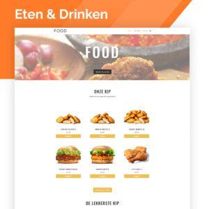 webshop voor een bedrijf in de foodsector