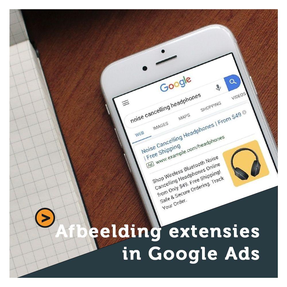 Afbeelding extensies in Google Ads