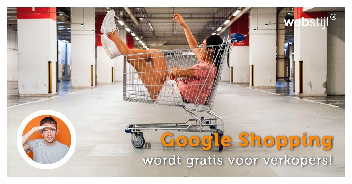 Gratis je producten plaatsen in Google Shopping!
