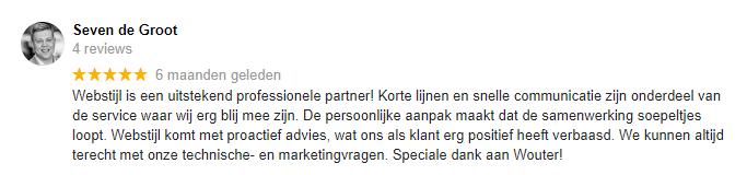 review klant webstijl