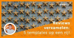 Online review templates voor lokale bedrijven!